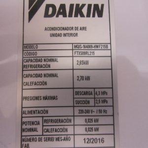 Aire Acondicionado Split Daikin Inverter Aire